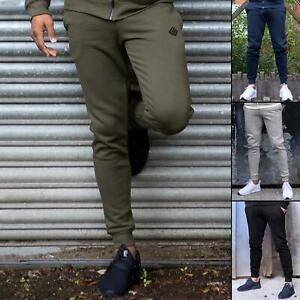 Enzo Mens Fleece Cuffed Joggers Slim Fit Jogging Bottoms Sweatpants Trousers
