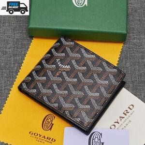 Brand New GOYARD GOYARDINE Saint Sulpician Card Holder Wallet More Colors