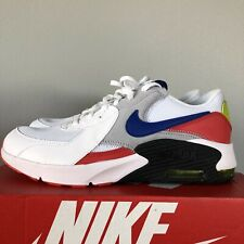 Nike sneaker youth size 7 AIR MAX EXCEE White Cactus Red Blue CD6894 101