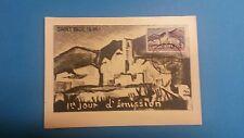 FRANCE PREMIER JOUR FDC YVERT 1311 SAINT PAUL DE VENCE 15c 1961.