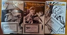 Freddy Vs Jason Vs Ash 2-4 2nd Print All Autographed By Eric Powell
