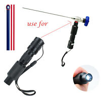 USPS! Portable 10W LED Cold Light Source Connector Fit For Storz Wolf Endoscope