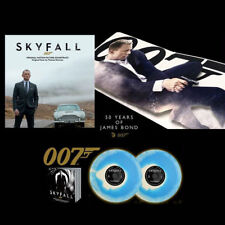 Thomas Newman - Skyfall Vinyl LP X 2 Blue And White Swirl LTD Edtn Numbered New