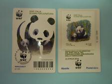 Tessera Filatelica WWF Italia 2016 numerata