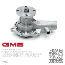 GMB WATER PUMP 161-186-202 6 CYL RED ENGINE [1969-80 HOLDEN HT-HG-HQ-HJ-HX-HZ]