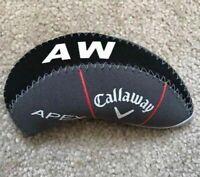 10Pcs Grey Quality Neoprene Callaway Apex Golf Club Iron Covers HeadCovers UK