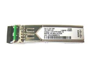 Genuine CISCO GLC-ZX-SM 1000BASE-ZX SFP Transceiver 10-1837-01 mini GBIC