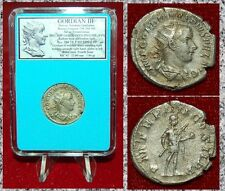 New ListingAncient Roman Coin Gordian Iii in Military Dress on Reverse Silver Antoninianus