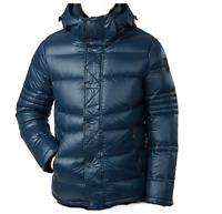 Pajar Canada Men's Duck DOWN Hood Dorchester Quilted Blue Jacket Sz XL