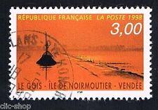 1 FRANCOBOLLO FRANCIA TURISTICA GOIS ISOLA DI NOIRMOUTIER 1998 usato