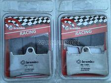 YAMAHA YZF R6 1999 / 2012 PASTIGLIE FRENO RACING BREMBO RC BRAKE PADS