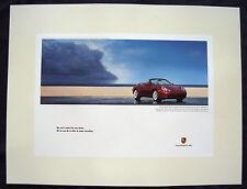 PORSCHE OFFICIAL 911 996 CARRERA CABRIOLET INCENTIVE POSTER 1999-2004