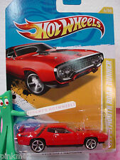 2012 #6 Premier '71 PLYMOUTH ROAD RUNNER☆RED☆Hot Wheels Case E/F☆New Model
