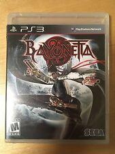 Bayonetta (Sony PlayStation 3 2010) Brand new