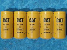 5 NEW CAT 1R-0751 FUEL FILTERS SEALED MADE IN USA CATERPILLAR 1R0751 OEM