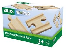 33393 Brio Mini Straight Track ( double in & outs) Wooden Railway