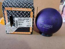 New listing NEW 14lb Hammer Purple Pearl Urethane Bowling Ball 007A