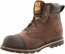 Buckler Safety Lace Boot With Steel Midsole and Steel Toe Cap B301 8