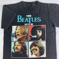 VTG The Beatles Let It Be T-Shirt Mens Medium Rock Chang Faded