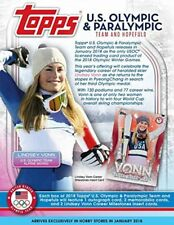 2018 Topps US Winter Olympics and Paralympics Team USA Complete Bronze Set