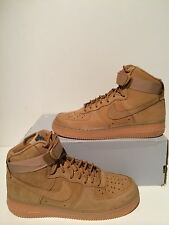 New Women's Nike AF1 Air Force 1 High '07 LV8 Flax Wheat Size 9 654440 200