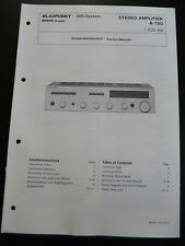 ORIGINALI service manual servizio clienti carattere Blaupunkt a-150