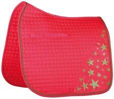 Pink English Horse Saddle Pads