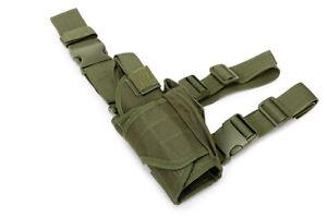 Pistola Militar Táctica Pistola Mano Gota Pierna Muslo Funda Bolsa Bolsa Soporte