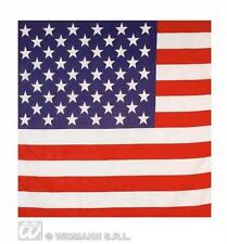Usa American Stars And Stripes Flag Bandana 55X55Cm Biker Head Wrap Scarf