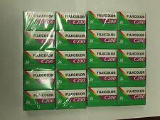 100 ROLLS FRESH FUJI  Fujifilm FUJICOLOR C200 35mm Color Negative Film 36EX 8/18