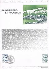 Document Officiel   1982 02   Saint Pierre Et Miquelon  Yv N° 2193