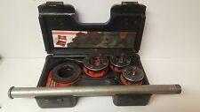 Threading Set Rothenberger 7.0780X Ratchet Threader Pipes Engineering