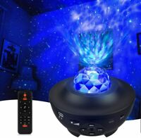 Night Light Projector Ocean Wave Projector Star Party Light Projector with Bluet