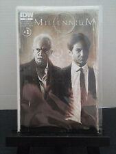 Millennium # 1 Comic IDW Frank Black 1st One X-Files Spin Off Lance Henriksen