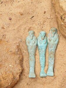 Rare Antique Ancient Egyptian Ushabti Servant Minions cook clean Grave 1780 BC
