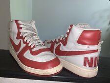 Nike Terminator High VNTG 2008 Red White 318677-061 Size US 10 No Box RARE