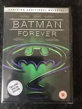 BATMAN FOREVER DVD 2 DISC SPECIAL EDITION VAL KILMER JIM CARREY MOVIE NEW UK
