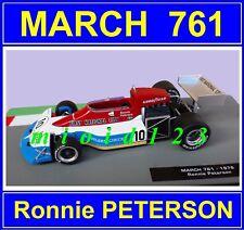1/43 - MARCH 761 : Ronnie PETERSON - 1976 - Die-cast - 1/43 FORMULA 1