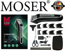 Moser 1902 Lithium Professional Hair Clipper LCD Charge indicator