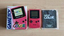 Nintendo Game Boy Color rosa pink mit OVP Konsole Handheld GBC, guter Zustand
