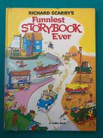 Vintage Richard Scarry's Funniest Story Book Ever -  Hardback Book
