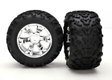 Traxxas pneu + jante monté 17mm summit E-MAXX revo etc - 5674