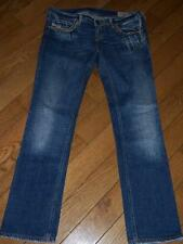 WOMENS DIESEL INDUSTRY LOWKY JEANS WAIST 32 LENGTH 30 ITALY ORIG 29 STRETCHED