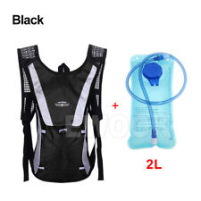 Hydration Pack Water Backpack 2L Bladder Bag Cycling Bicycle Bike Hiking Climbin