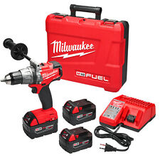 Milwaukee 2704-22 M18 FUEL 18-Volt 1/2-Inch Hammer Drill/Driver w/ Batteries