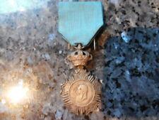 t2belle medaille  d'honneur congo  belge veteran leopold 2