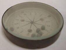 Old Antique Dexterity Puzzle - Brass Compass w/ beveled glass - UNIQUE!