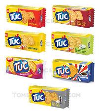 LU Crackers TUC PAPRIKA / ORIGINAL / BACON / BARBECUE / Chili Flavors 100g 3.5oz