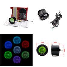 "2""/52mm Water Temperature Gauge Bright Digital LED Meter Gauge Tint Lens for Car"