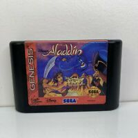 Disney's Aladdin - Sega Genesis Game - Cartridge Only CLEANED & TESTED! DA92984